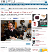 """""""Welt Online"""" vom 15. Oktober 2010"""