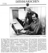 Dithmarscher Landeszeitung vom 1. September 2005