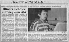 Heider Rundschau vom 9. Oktober 1991