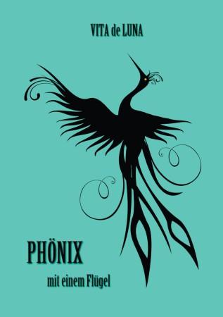 Phoenix mit einem Flügel