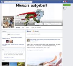 Screenshot: Mein Handicap, meine Gedanken und ich - trotz Behinderung voll im Leben, https://www.facebook.com/trotzbehinderungvollimleben?fref=ts