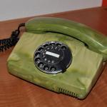 Grünes Telefon; Foto: Susanne Junge, 2015