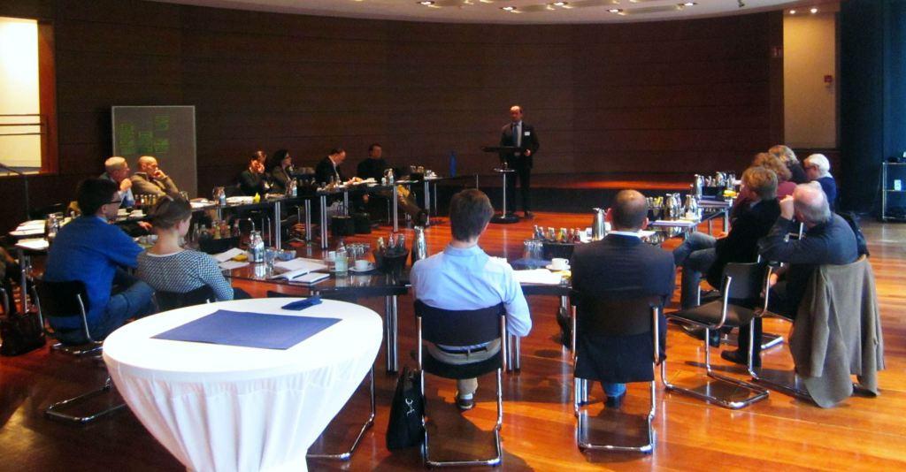 Dr. Carsten Dethlefs am 6.2.2015 in Hannover beim Vortrag der KAS