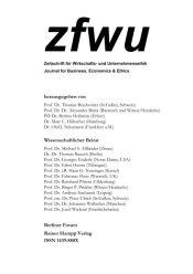 zfwu – Zeitschrift für Wirtschafts- und Unternehmensethik – 1.2015