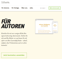 Screenshot lituro.de