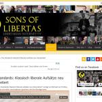 Screenshot Sons of Libertas http://sonsoflibertas.com/the-standards-klassisch-liberale-aufsatze-neu-interpretiert/