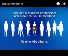 Screenshot Werbung Durex Kondome https://www.youtube.com/watch?v=cBNJmHFjZqs