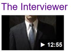 Screenshot youtube The Interviewer