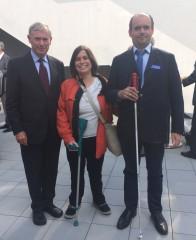 Horst Köhler, Andrea Henkel, Dr. Carsten Dethlefs; Foto: privat