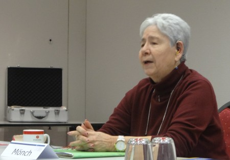 """Ingrid Mönch, Seminar""""Barrierefreiheit weiterdenken"""" am 3. und 4.12.2016, Quelle: KAS e.V."""