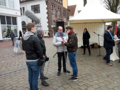 20.04.17 Heider Marktplatz CDU, Foto: privat