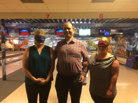 Blind bowlen 1 - Foto: privat