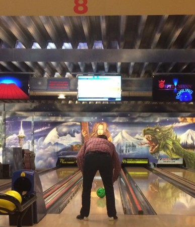 Blind bowlen 3 - Foto: privat