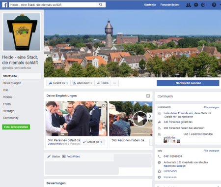 Screenshot https://www.facebook.com/Heide.schlaeft.nie/
