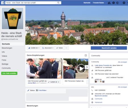 Screenshot https://www.facebook.com/Heide.schlaeft.nie/