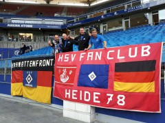 HSV Fan Club Fahne, Foto: privat