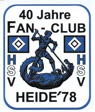 40 Jahr HSV Fan Club Logo, Quelle: privat