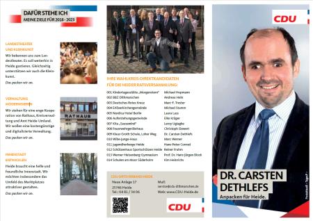 CDU-Flyer außen