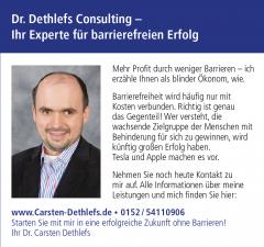 """Anzeige in der Zeitschrift """"Wirtschaft zwischen Nord- und Ostsee"""", 01.09.18"""