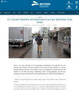 Dithmarscher Landeszeitung vom 26.10.2018