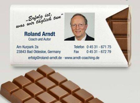 Visitenkarte Roland Arndt; Foto von privat