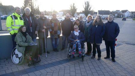 Bahnhofsbegehung in Heide am 11.03.2019; Foto: Susanne Junge