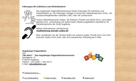 Augsburger Puppenkiste - http://www.augsburger-puppenkiste.de/besucher-infos/index.shtml