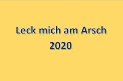 Jahresrückblick 2020; Bild: Susanne Junge